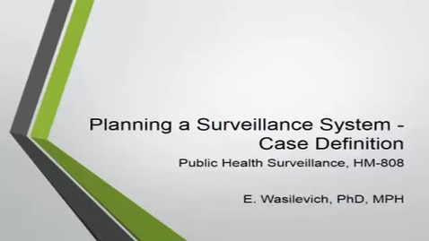 Thumbnail for entry HM808PlanningaSurveillancesystemthecasedefinition