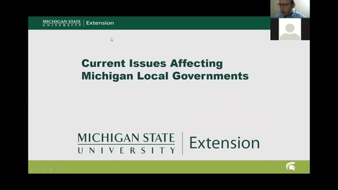 Thumbnail for entry Current Issues Affecting Michigan Local Governments: Regulating Medical Marijuana Facilities