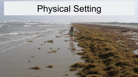 Thumbnail for entry GEO330: Coastal South: Physical Setting