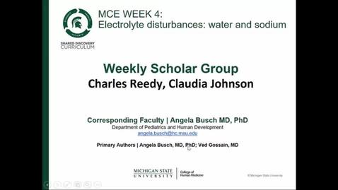 Thumbnail for entry Dr. Gossain MCE Week 4 WSG Summary