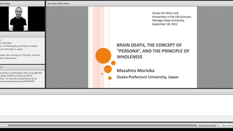 Thumbnail for entry Brain Death, the Concept of 'Persona,' and the Principle of Wholeness