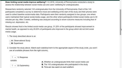 Thumbnail for entry Webwork help 1- Limit Social Media Problem