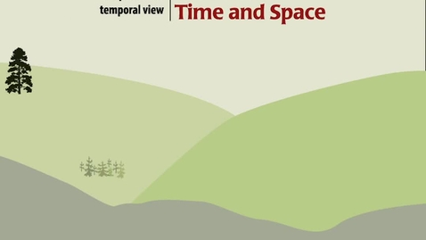 Thumbnail for entry A Spatial and Temporal View of Carbon in Time and Space