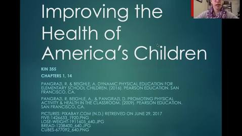 Thumbnail for entry KIN 355 - 004 - Improving Health of America's Children (Chap 14) - part1