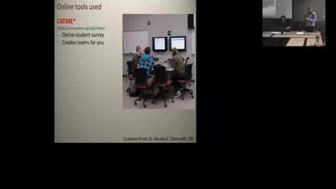 Thumbnail for entry  Using the REAL Classroom at MSU- Brown Bag 09-27-2013