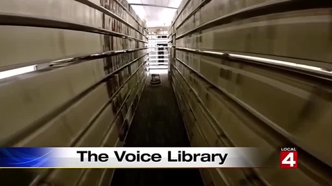 Thumbnail for entry G. Robert Vincent Voice Library at MSU captures history...