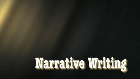 Thumbnail for entry TE848 04 - Narrative Writing Unit