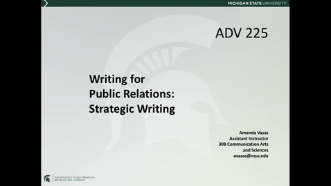 Thumbnail for entry *ADV225Session1_Lecture10StratWriting_WritingProcess