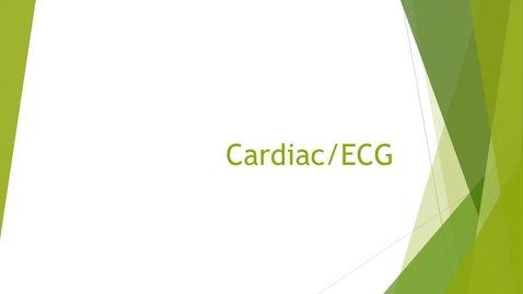 Thumbnail for entry EKG Pre Lab Lecture