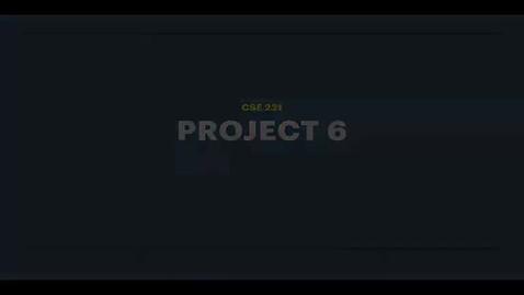 Thumbnail for entry proj6