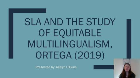 Thumbnail for entry O'Brien Ortega 2019 Presentation