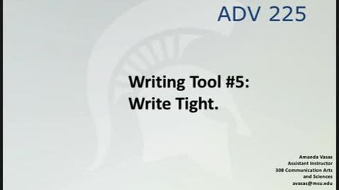Thumbnail for entry ADV225Session3WritingTool5_1_5of14