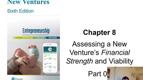 Thumbnail for entry HB 358 Chapter 8 Assessing Financial Strength & Viability PowerPoint Video Presentation Part 1