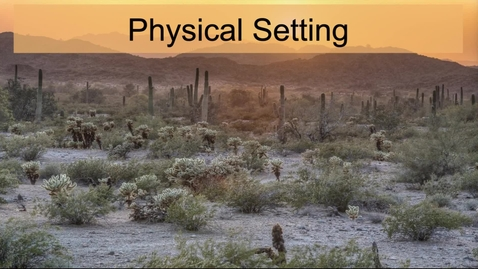 Thumbnail for entry GEO330: Intermontane West & MexAmerica: Physical Setting