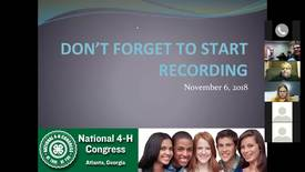 Thumbnail for entry 2018 4-H National Congress Orientation