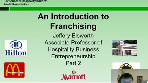Thumbnail for entry HB 358 Franchising Part 2