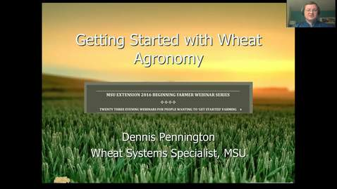 Thumbnail for entry Wheat agronomy