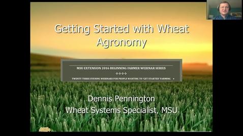 Thumbnail for entry Wheat agronomy