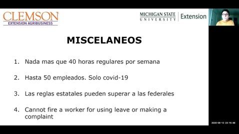 Thumbnail for entry Ley de Familias Primero en Respuesta al Coronavirus