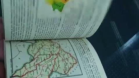 Thumbnail for entry La regioni dell'impero Italiano d'Etiopia: Atlantino geographico traforato con 15 carte a colori e testo illustrativo