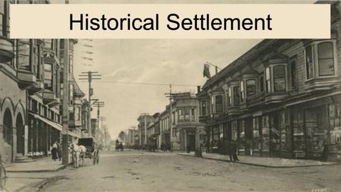 Thumbnail for entry GEO330: New England: Historical Settlement