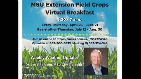 Thumbnail for entry Virtual Breakfast 5/24/18: Jeff Andresen, Weather Report