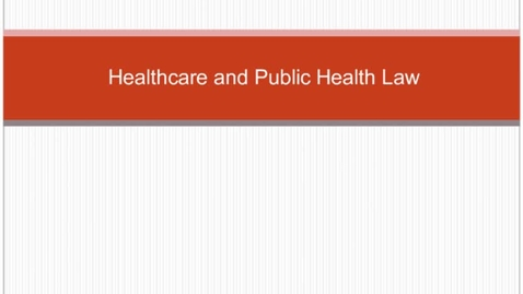 Thumbnail for entry HM804 sec730 healthcarelaw