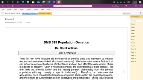 Thumbnail for entry BMB528 - (014-A) Population Genetics_Part A_Introduction