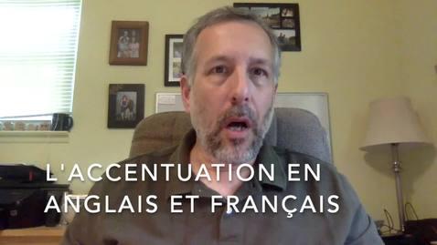 Thumbnail for entry L'accentuation- Anglais-Francais