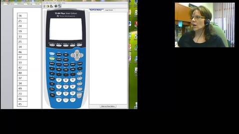 Thumbnail for entry STT 200 Calculating summary statistics using a TI-84 calculator