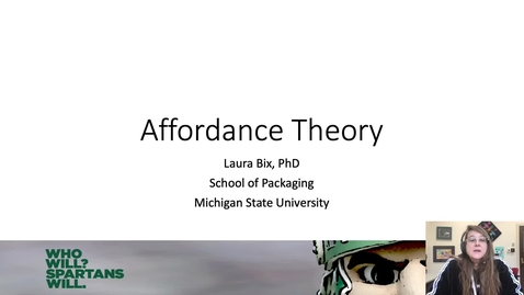 Thumbnail for entry affordance theory