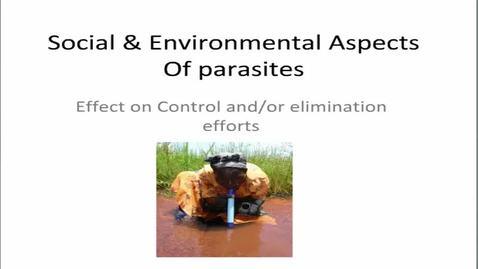 Thumbnail for entry HM863socialandEnvironmentalaspectsofparasites