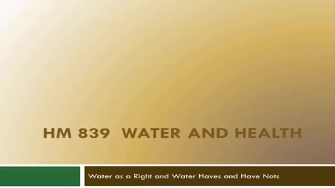 Thumbnail for entry HM839WaterasaHumanRight
