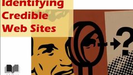 Thumbnail for entry Identifying Credible Web Sites