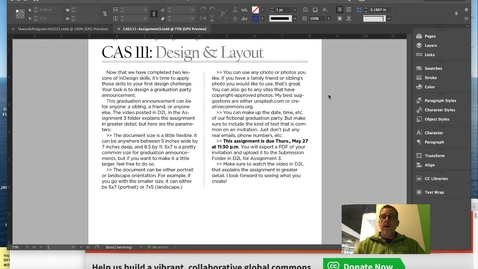 Thumbnail for entry CAS111-Assignment3