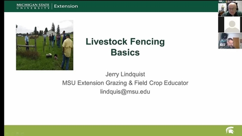 Thumbnail for entry Fencing and watering systems for livestock  March 13, 2017