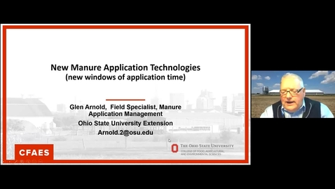Thumbnail for entry New Manure Application Technology
