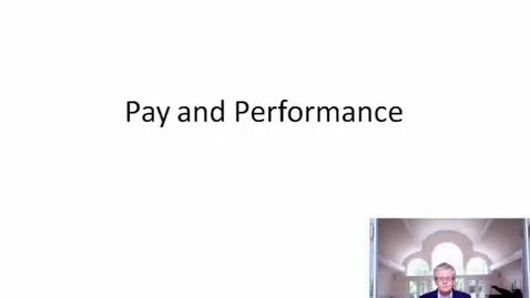 Thumbnail for entry Pay for Performance