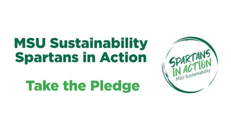 Thumbnail for entry MSU Sustainability - Spartans in Action Pledge.