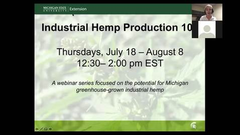 Thumbnail for entry Insect and Mite Pests of Industrial Hemp