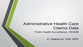 Thumbnail for entry HM808administrativeandhealthcareclaimsdata