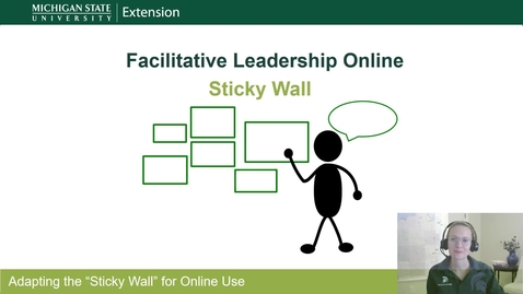 Thumbnail for entry Sticky Wall-Facilitative Leadership Online