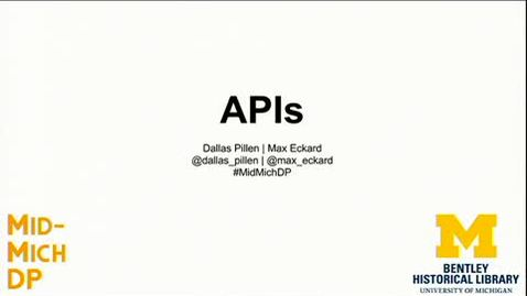Thumbnail for entry MMDP20170323_03_API_Workshop