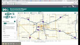 Thumbnail for entry Using the Michigan Environmental Mapper