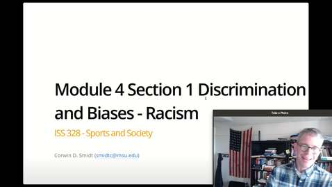Thumbnail for entry Module 4, Section 1 (Racism) - Part 1