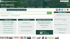 Use Michigan State University's Interlibrary Loan service