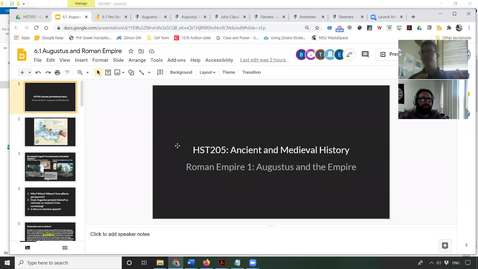 Thumbnail for entry 6.1 Roman Empire Part One