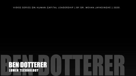 Thumbnail for entry Ben Dotterer - Full Upload