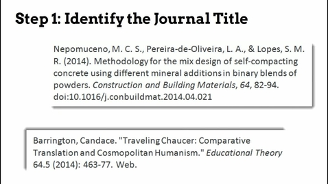 Thumbnail for entry Find Full Text (from an article citation)