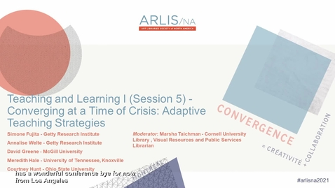 Thumbnail for entry Converging at a Time of Crisis: Adaptive Teaching Strategies